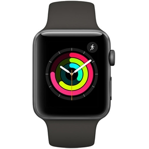 Wholesale Apple Watch Series 3 - 42mm Space Gray Aluminum GPS watchOS 4 MR362
