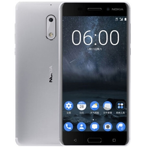 WholeSale Nokia 6 32GB Silver China 4G,  SIM Door Key and Quick Guide Mobile Phone