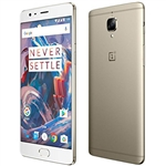 WholeSale One plus three 64GB A3003 Gold, Grey, OxygenOS Mobile Phone