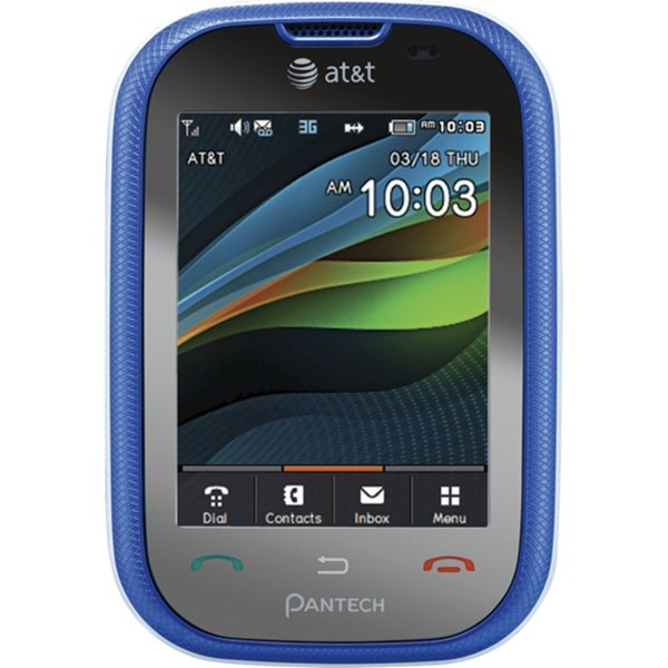 wholesale pantech pursuit p9020 blue 3g gsm unlocked at t cell rh todayscloseout com Pantech Renue Pantech Pursuit II Comparison