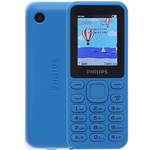 WholeSale Philips E105 Blue, Red, SD card up to 32GB Mobile Phone