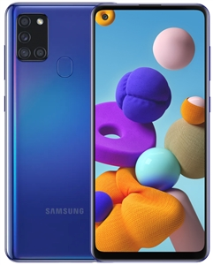 Wholesale New SAMSUNG GALAXY A21S BLUE 64GB 4GB 4G LTE Unlocked Cell Phones