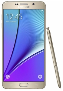 Samsung Galaxy Note 5 N920A 4G LTE GOLD GSM Unlocked Cell Phones