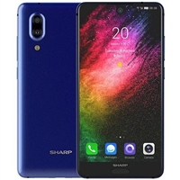 WholeSale Sharp Aquos S2 4+64GB Blue, Android 7.1 OS, Snapdragon SDM630 Mobile Phone