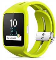 Wholesale Sony SWR50 Smart watch 3 silicon lime