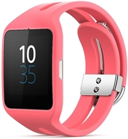 Wholesale Sony SWR50 Smart watch 3silicon pink