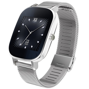 Wholesale ASUS ZenWatch 2 1.45 Smartwatch with HyperCharge (SIlver Case Silver Metal Band)