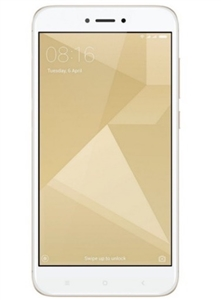 Xiaomi RedMi 4 32GB White/Gold 4G LTE Unlocked Cell Phones Factory Refurbished