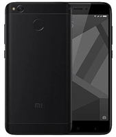 Xiaomi RedMi 4X 16GB Black 4G LTE Unlocked Cell Phones Factory Refurbished
