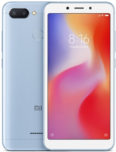Wholesale Brand New XIAOMI REDMI 6 BLUE 64GB 4G LTE Unlocked Cell Phones